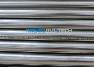Chiny 18SWG TP309S / 310S Stainless Steel Precision Tubing , ASTM A213 Seamless Tube fabryka
