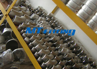 Chiny ASME / ANSI B16.9 SAF2205 / 2507 400LB Flanges Pipe Fittings , Duplex Steel Cap Pipe Fitting fabryka