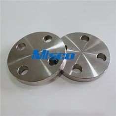Chiny ASTM A182 F51 / F53 Flanges Pipe Fittings , Duplex Steel Blind Flange For Hydraulic Tube fabryka