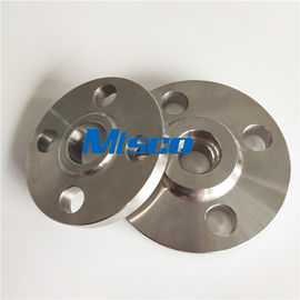 Chiny ASME / ANSI B16.5 SAF2205 / 2507 Flanges Pipe Fittings , Duplex Steel Slip On Flange fabryka